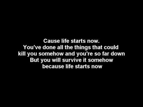 Three Days Grace - Life Starts Now [Lyrics & HQ Audio]