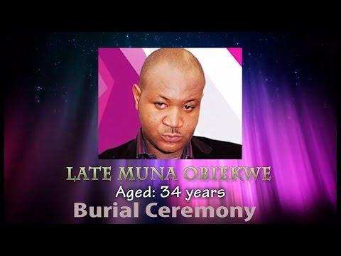 Nollywood Buries Muna Obiekwe