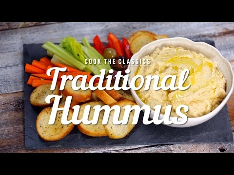 How to Make Traditional Hummus | Cook the Classics