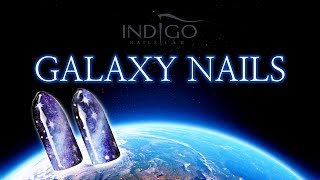 Jak Zrobić Galaxy Nails :: Tutorial
