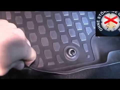 PREMIUM 3D Gummimatten Gummi-Fußmatten