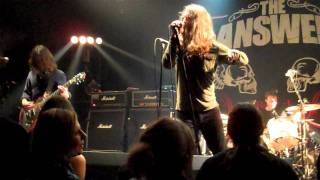 The Answer - Trouble (27/01/2012 - Magasin 4 Brussels) [HD]