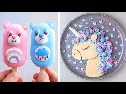 10 Best Ways to Decorate Cake Like a Pro | Easy Dessert Recipes by So Yummy Cake Tutorial
