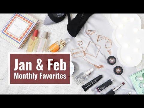 一二月愛用品 Jan & Feb Monthly Favorites