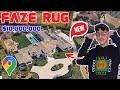 Faze Rug NEW House Tour on Google Earth