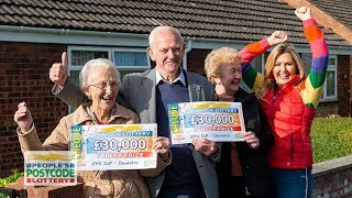 #StreetPrize Winners - SY11 2LP in Oswestry on 14/10/2018 - People's Postcode Lottery