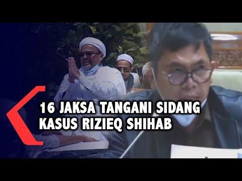 16 Jaksa Tangani Sidang Kasus Rizieq Shihab
