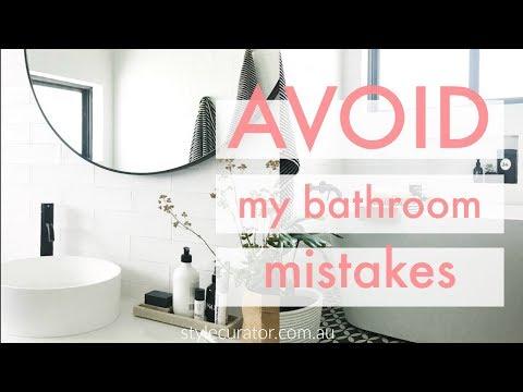 Bathroom mistakes to avoid, bathroom design and planning