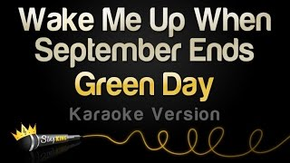 Green Day   Wake Me Up When September Ends (Karaoke Version)