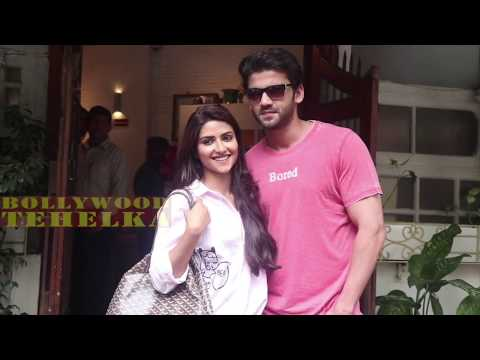 Salman Khan's Soon To Be Launched Pair Zaheer Iqbal & Pranutan Bahl | Spotted At Fable Juhu