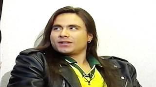 """ANGRA """"Time """" and """"Make Believe"""" Acústico 1996 Andre Matos e Kiko Loureiro"""