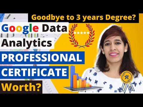 Is Google Data Analytics Professional Certificate worth it ? Will ...