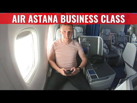 Review: Air Astana 767 Business Class – Most Surprising Flight of the Year!