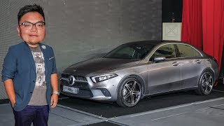 FIRST LOOK: 2019 Mercedes-Benz A-Class Sedan in Malaysia - from RM230k