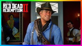 10 Moments Where Arthur Morgan Actually Has Fun & A Good Time In Red Dead Redemption 2! (RDR2)