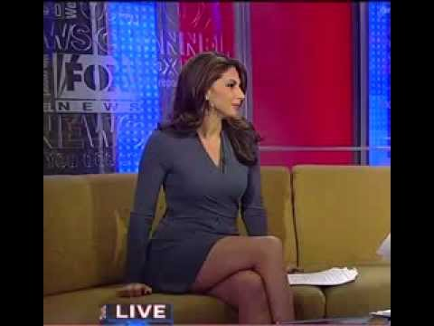 Nicole Petallides Short Skirt HOT