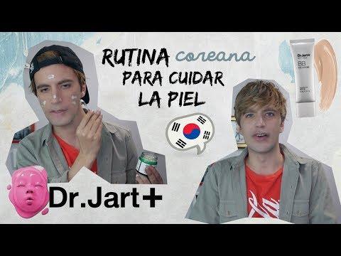 TUTORIAL Y RUTINA coreana premium para cuidado de la piel: Dr. Jart   Henry Evia