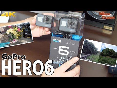 GoPro HERO6 発売!HERO5と比べてみた!!