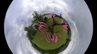 Insta360 fpv copter test