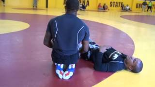 Jordan Burroughs Drilling on Mark Hall