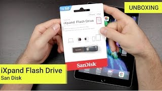 SanDisk iXpand Flash Drive | Unboxing und Kurztest (Deutsch/German)