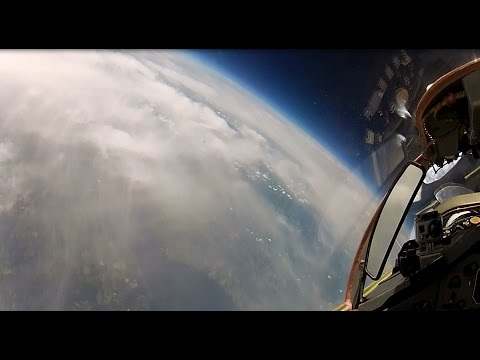 Reaching the Stratosphere in a MiG-29