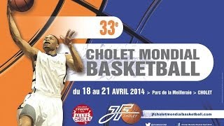 preview picture of video 'Finale du concours de dunks du Cholet Mondial Basketball 2014'