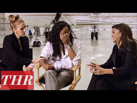 Celine Dion & Zendaya: Breakfast & Audrey Hepburn with Stylist Law Roach | THR Fishing For Answers