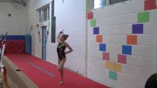 preview picture of video 'Floor Berkhamsted Gymnastics Club Championships'
