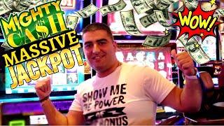 Mighty Cash Slot Huge HANDPAY JACKPOT   POMPEII Slot Machine HANDPAY JACKPOT