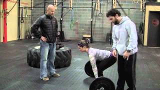 Crossfit Training How To Do Deadlift Exercises & Workouts for WOD, la