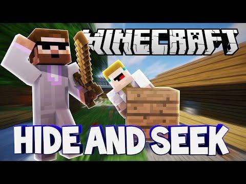 POSLEDNÍ HIDER A NAŠTVANÝ GEJMR | Minecraft Hide and Seek | Pedro a Gejmr