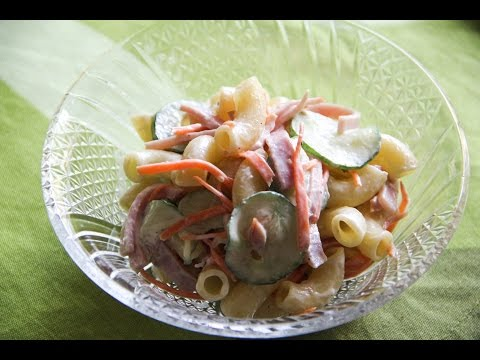Macaroni Salad Recipe – Japanese Cooking 101