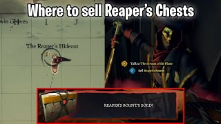 Sea of Thieves: Where to sell the Reaper's Chest (UPDATED)