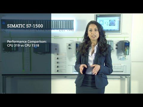Performance comparison CPU 1518-CPU 319