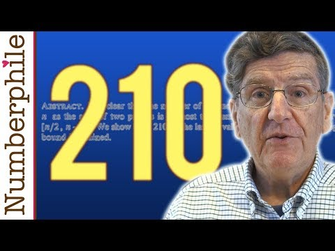 210 is VERY Goldbachy - Numberphile