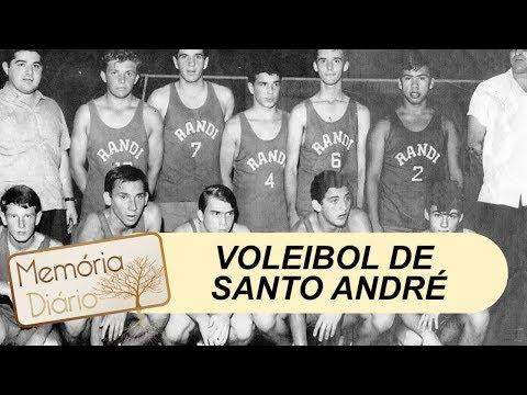 A história do voleibol em Santo André