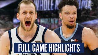 UTAH JAZZ vs MEMPHIS GRIZZLIES - FULL GAME HIGHLIGHTS | 2019-20 NBA Season