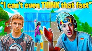 Ninja Is MINDBLOWN When Reacting To The Fastest Editor In Fortnite (His Thoughts)