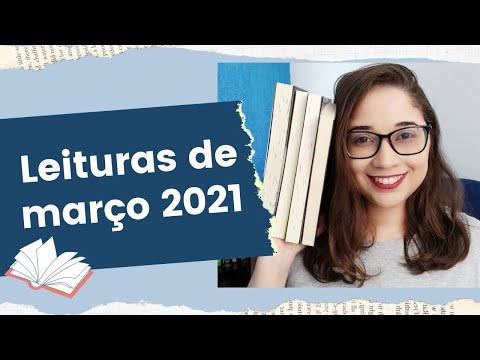 AS 7 LEITURAS DE MARÇO 2021 ?   Biblioteca da Rô