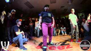 Girl Mafioso aka Splitta vs Jaja Vankova aka Lady Tight Eyez | One Round Event 2014