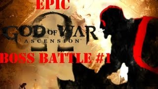 God of War: Ascension Epic Boss Battle #1: Aegaeon the Hecatonchires