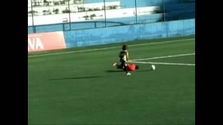 preview picture of video 'Leo jogadas taboao, cats futebol, taboao da serra'