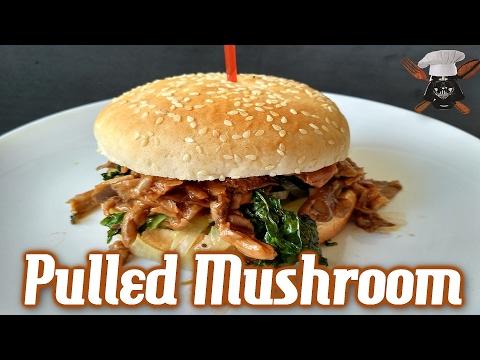 Pulled Mushroom / Hamburguesa Vegana de Setas / Sous Vide