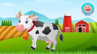 Ферма - Звуки животных - Угадываем по голосам. Развивающий Мультик