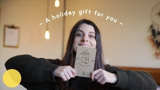 A holiday gift for you
