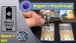 Sword & Sorcery - Playthrough - S01E01 - Regeln _ Aufbau Prolog - deutsch - Brettspiel