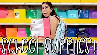 Back to School with Jazzy!! + Supply Haul - Video Youtube