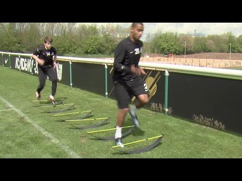 Three drills to help football endurance | FourFourTwo