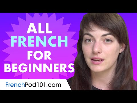 Learn French Today - ALL the French Basics for Beginners